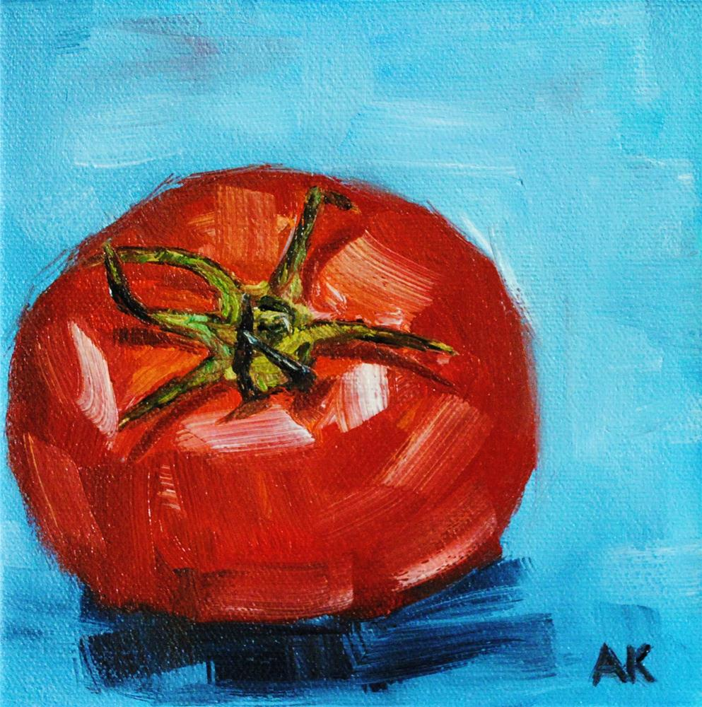 """Garden Fresh"" original fine art by Alison Kolkebeck"