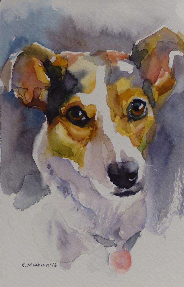"""Chico#2 (commission)"" original fine art by Katya Minkina"