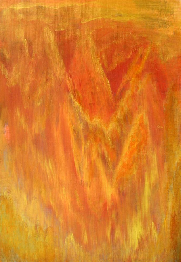"""Golden Autumn"" original fine art by Alina Frent"
