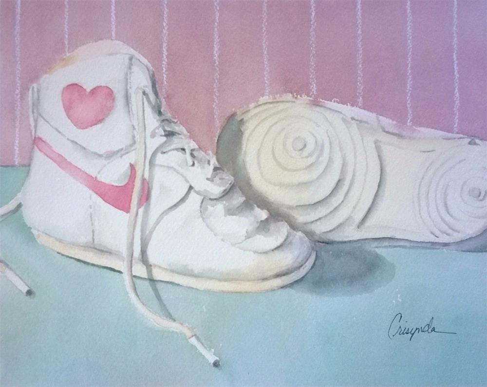 """Baby Steps"" original fine art by Crisynda Buss"