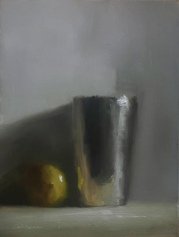 """Lemon Cup"" original fine art by Neil Carroll"