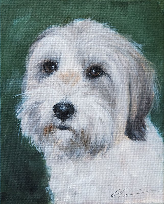"""PAINT MY DOG! Series #24"" original fine art by Clair Hartmann"