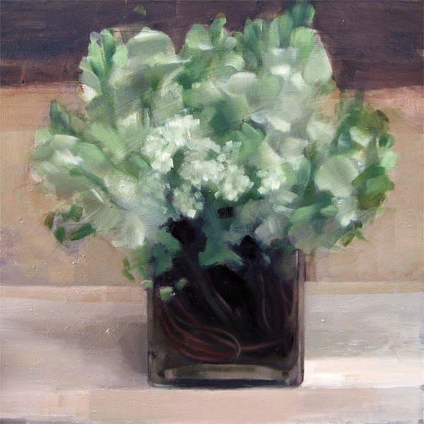 """White Flower Arrangement (no.83)"" original fine art by Michael William"