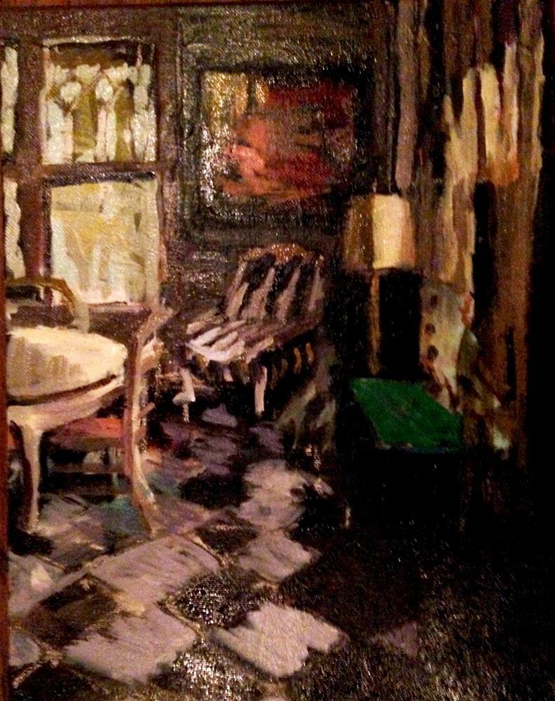 """Dining Room-Northern Light"" original fine art by Pamela Hoffmeister"