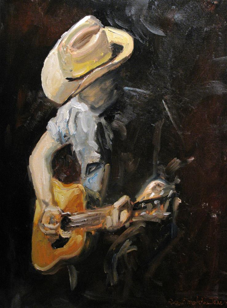 """At the Ryman"" original fine art by Susan Elizabeth Jones"