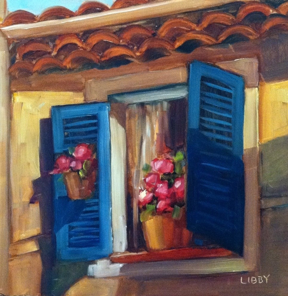 """Morning Window"" original fine art by Libby Anderson"