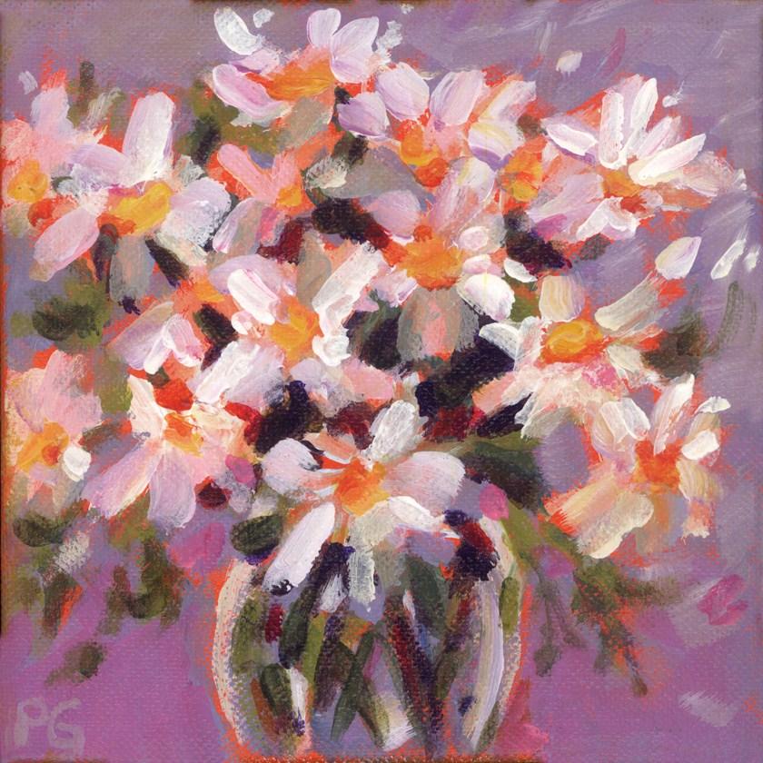 """Daily Daisies"" original fine art by Pamela Gatens"