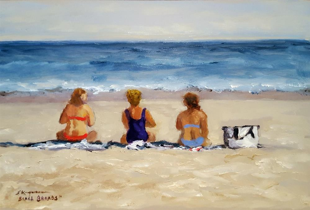 """Beach Broads"" original fine art by Shelley Koopmann"