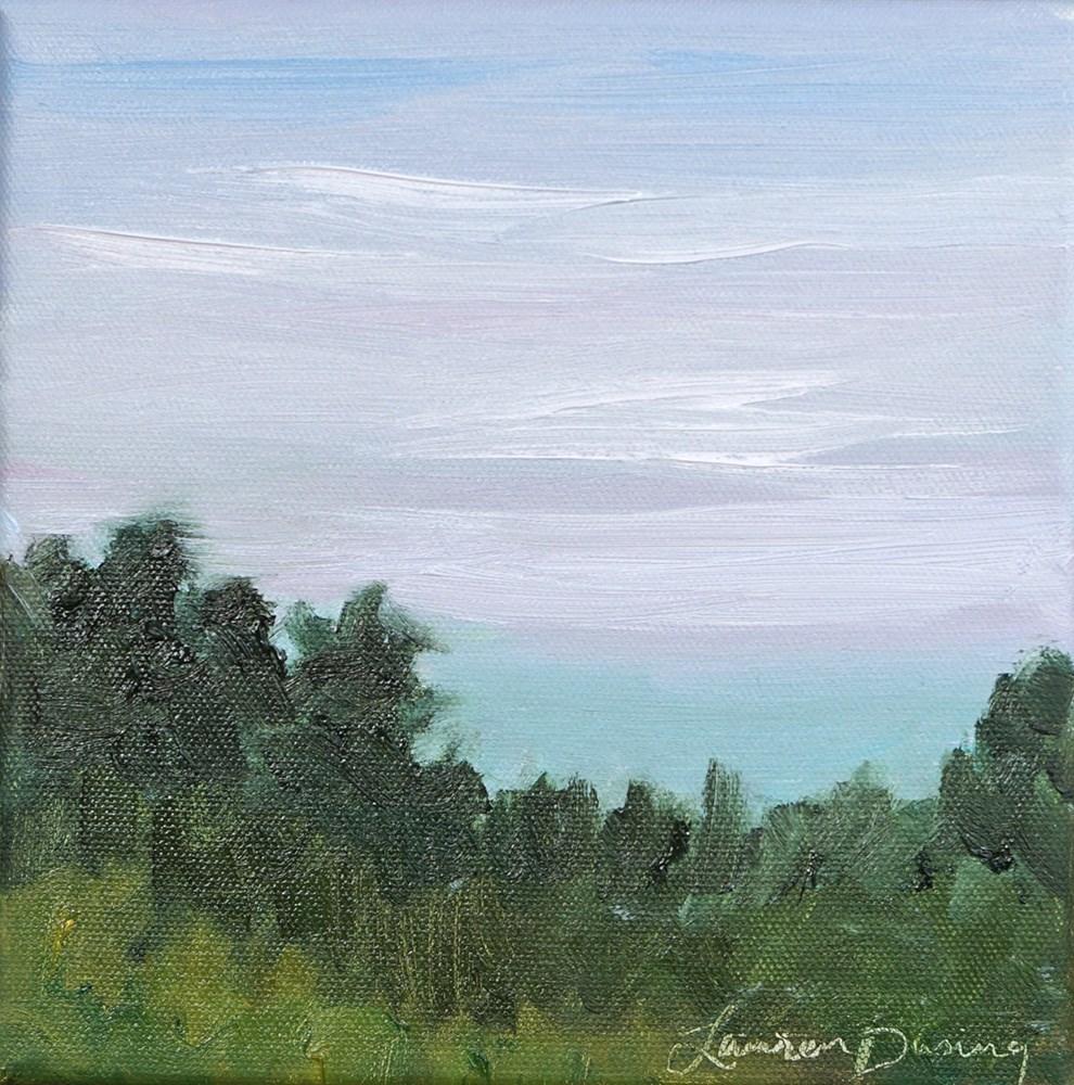 """""""Distant Horizon"""" original fine art by Lauren Dusing"""