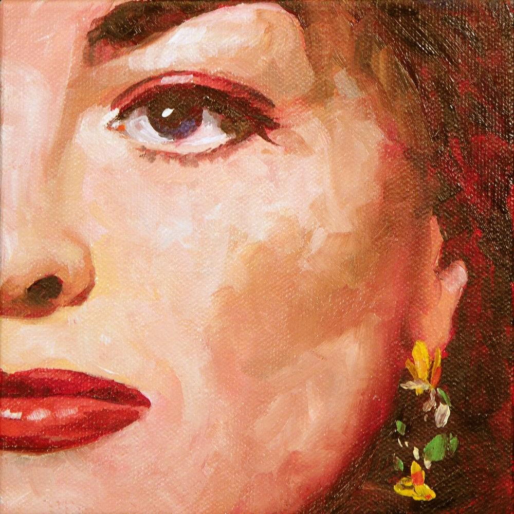 """Joan"" original fine art by Mary McInnis"