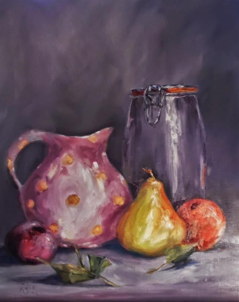 """Jar of Promise still life painting by Alabama Artist Angela Sullivan"" original fine art by Angela Sullivan"