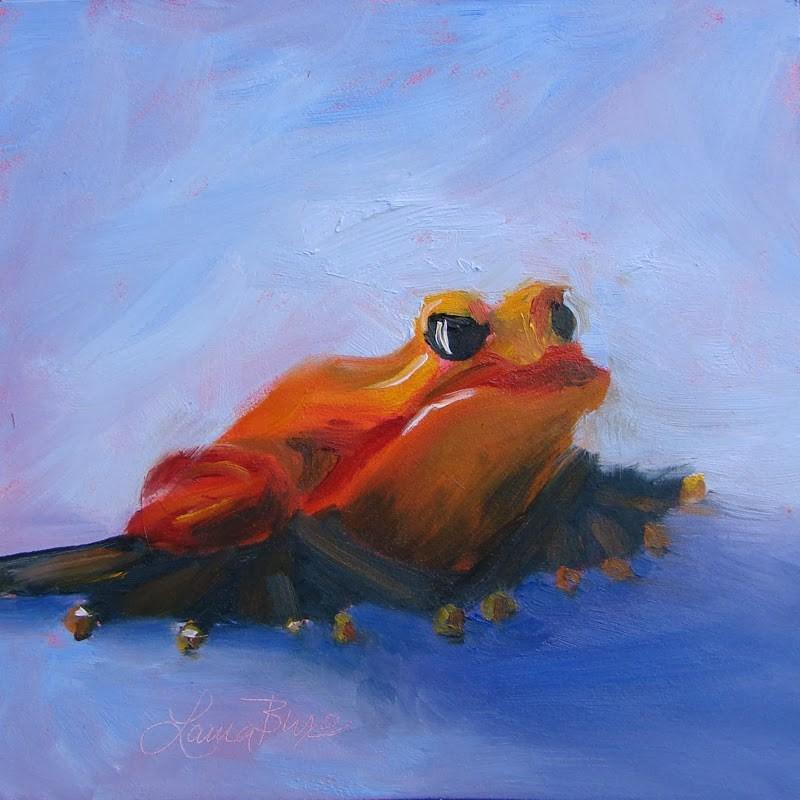 """Burt's Profile - 104"" original fine art by Laura  Buxo"