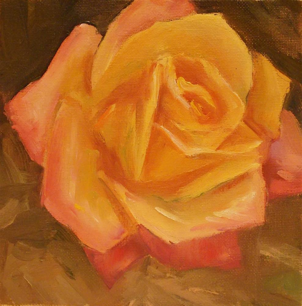 """Rose Fever"" original fine art by Doug Carter"