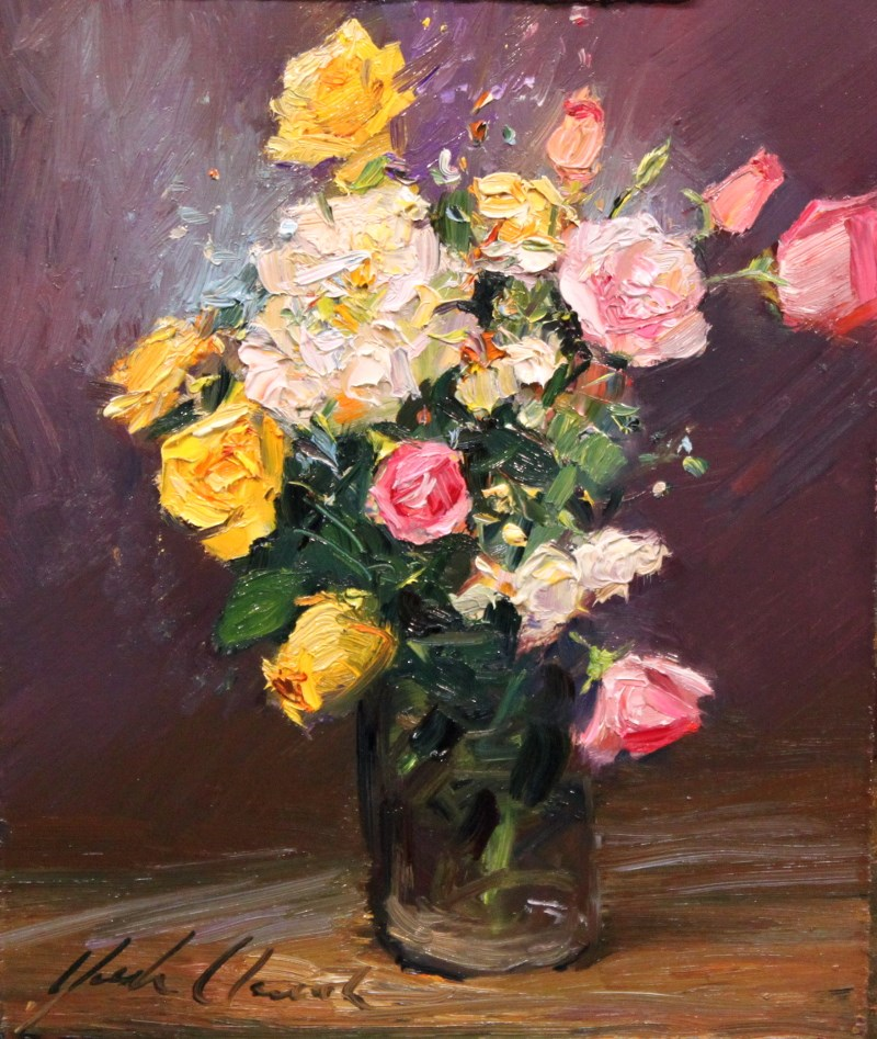 """""""Spring Roses"""" original fine art by Justin Clements"""