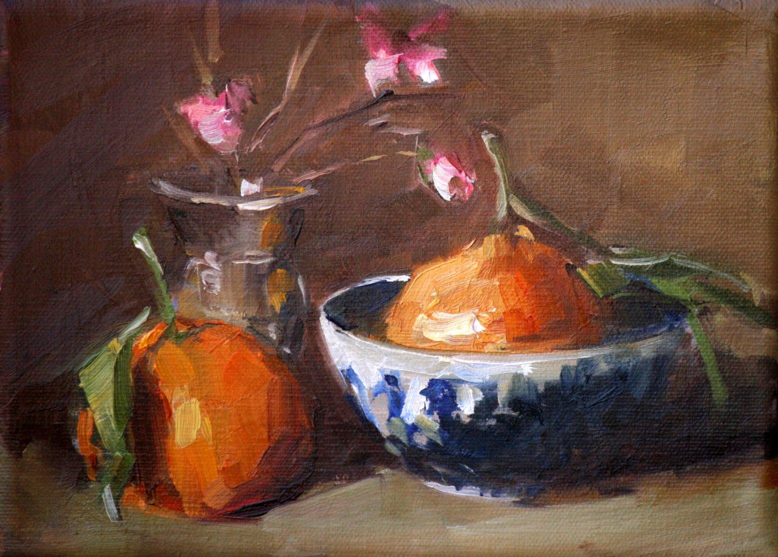 """harmony"" original fine art by Carol Carmichael"