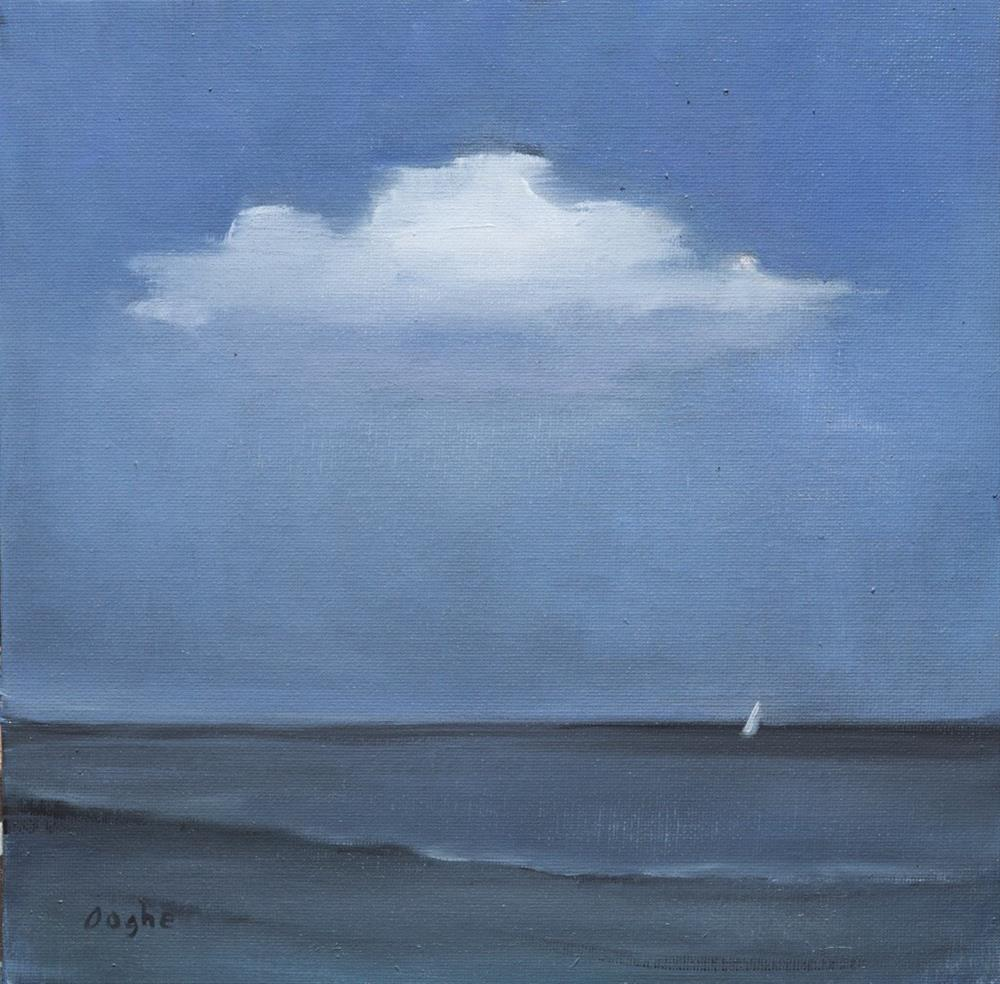 """Sailboat"" original fine art by Angela Ooghe"
