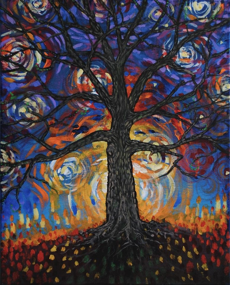 """Awakening"" original fine art by Angela Gunter"