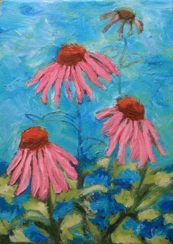 """Spring Zepher"" original fine art by Jean Nelson"