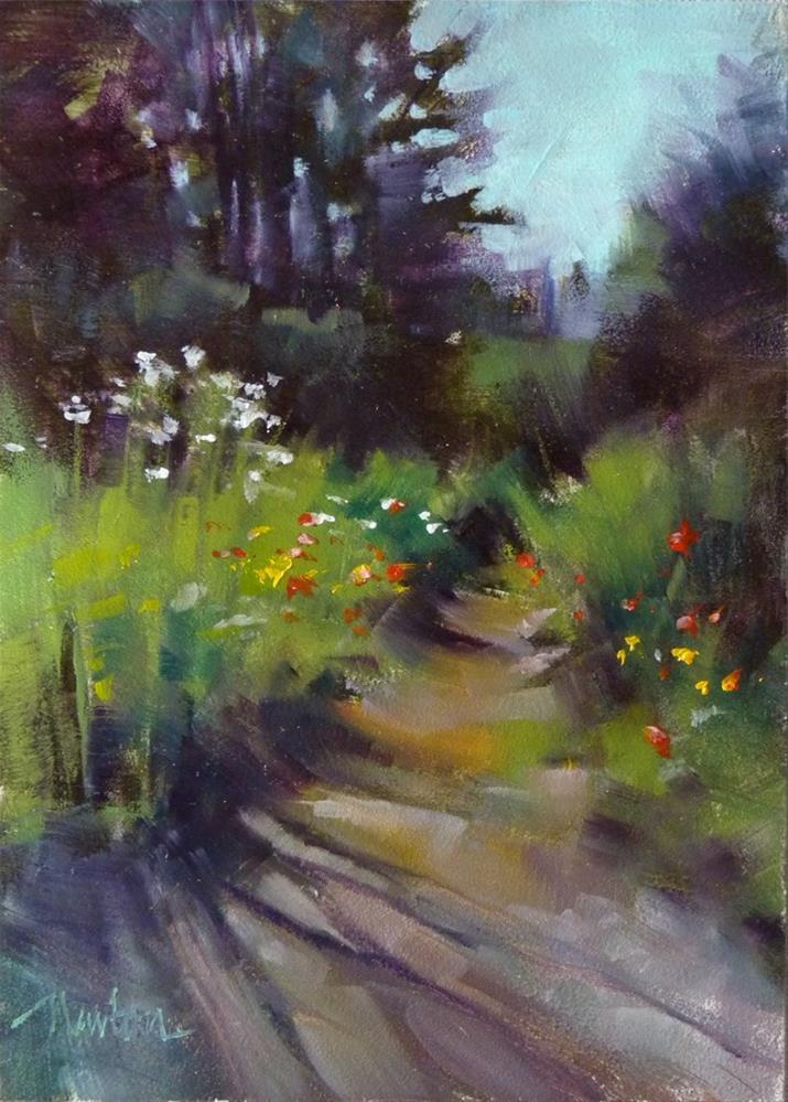 """While You Were Gone"" original fine art by Barbara Benedetti Newton"