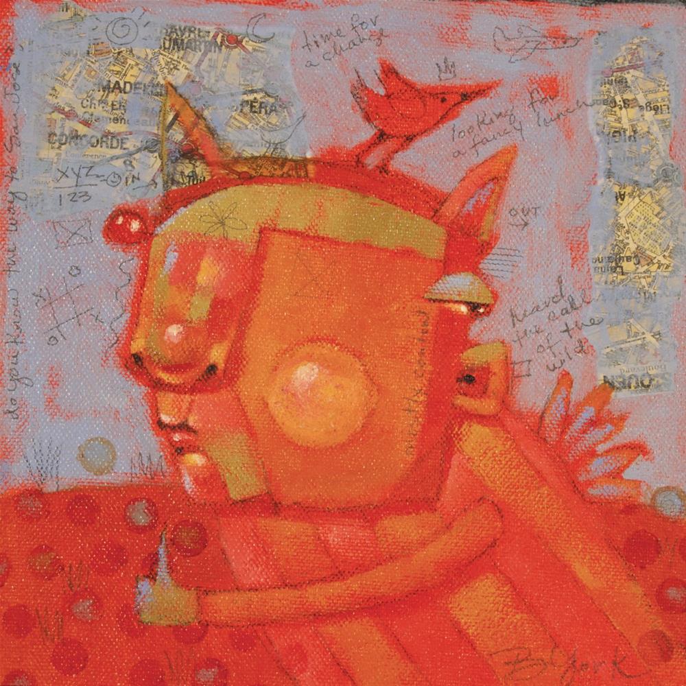 """Taco Bypass"" original fine art by Brenda York"
