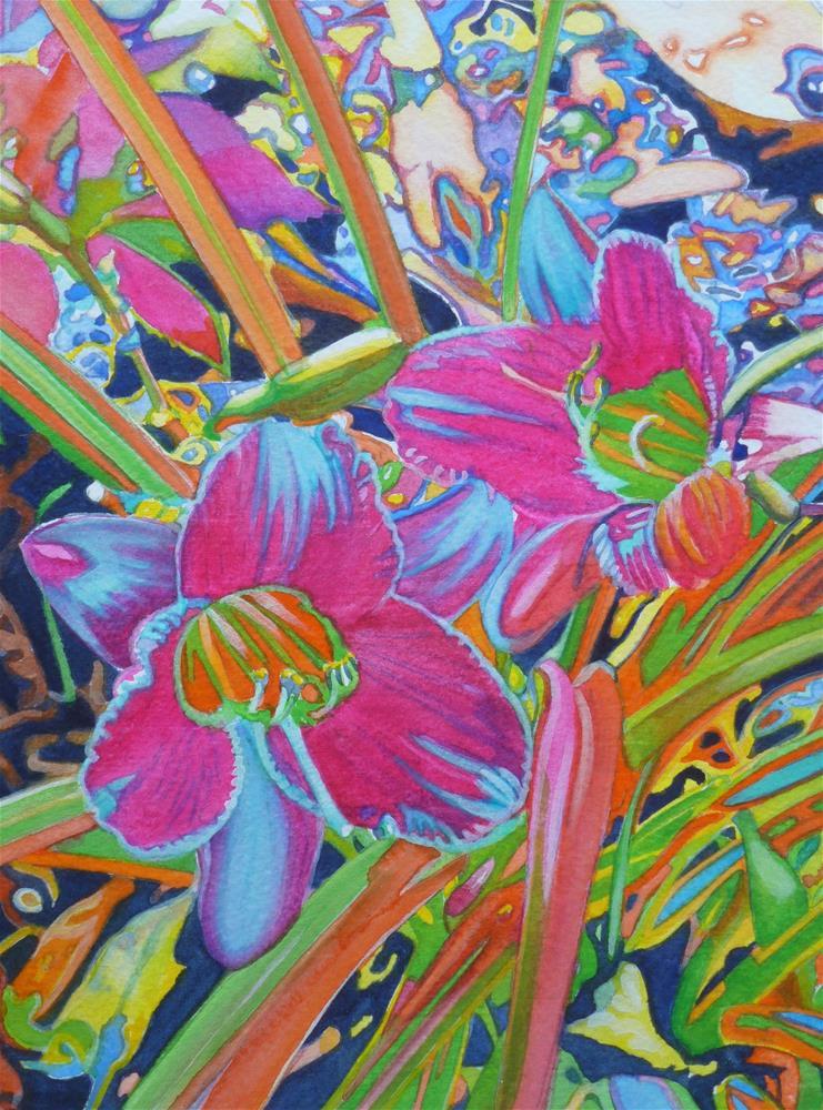 """Day Trippin'"" original fine art by Christine Anagnostis"