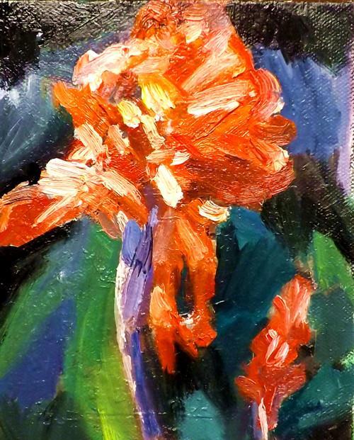 """FLOWER,S16"" original fine art by Run-      Zhang Zane"