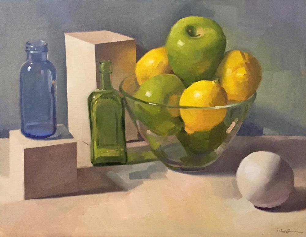 """Faith's Fruit"" original fine art by Sarah Sedwick"