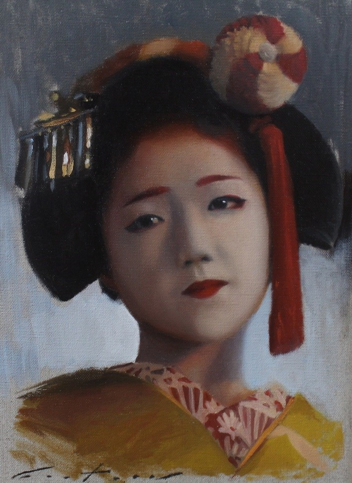 """Katsuna"" original fine art by Phil Couture"