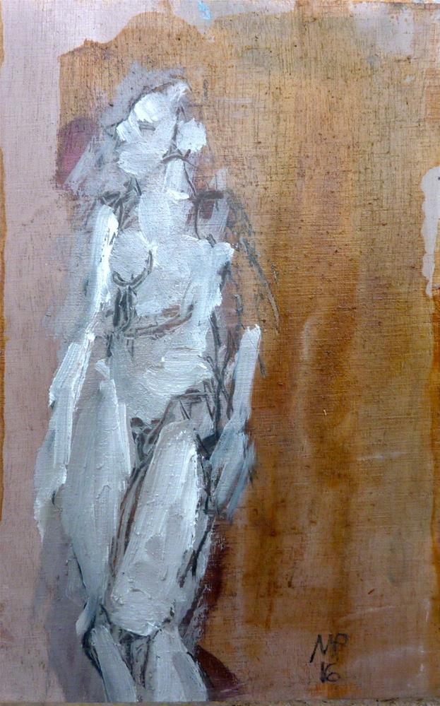 """Abstrakte Figur"" original fine art by Mila Plaickner"