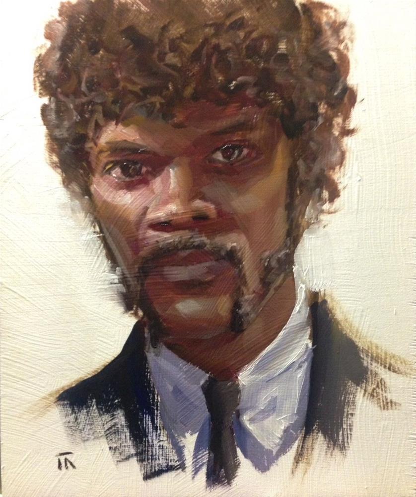 """Pulp Realism"" original fine art by Thomas Ruckstuhl"