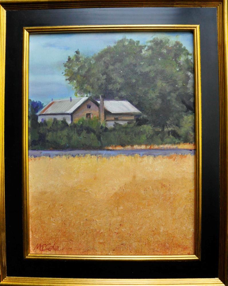 """""""Oat Field"""" original fine art by Margot Cole"""