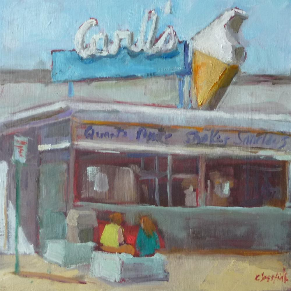 """Carl's"" original fine art by Carol Josefiak"