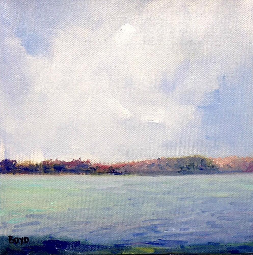 """Sunday Serenity"" original fine art by Cathy Boyd"