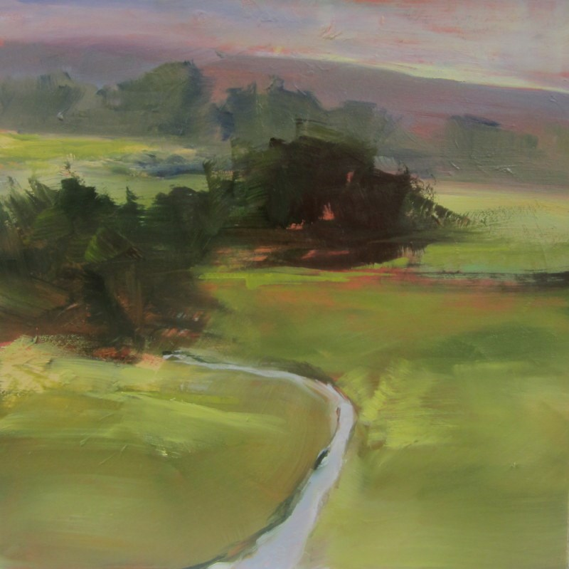 """Deep Vista"" original fine art by Sandy Haynes"