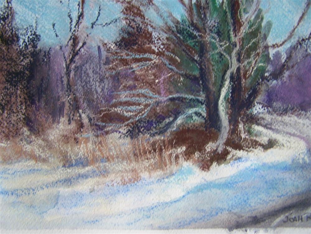 """Winter 2015"" original fine art by Joan Reive"