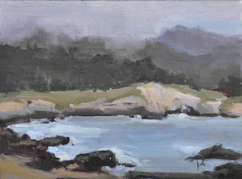 """Point Lobos, CA"" original fine art by Julie Davis"