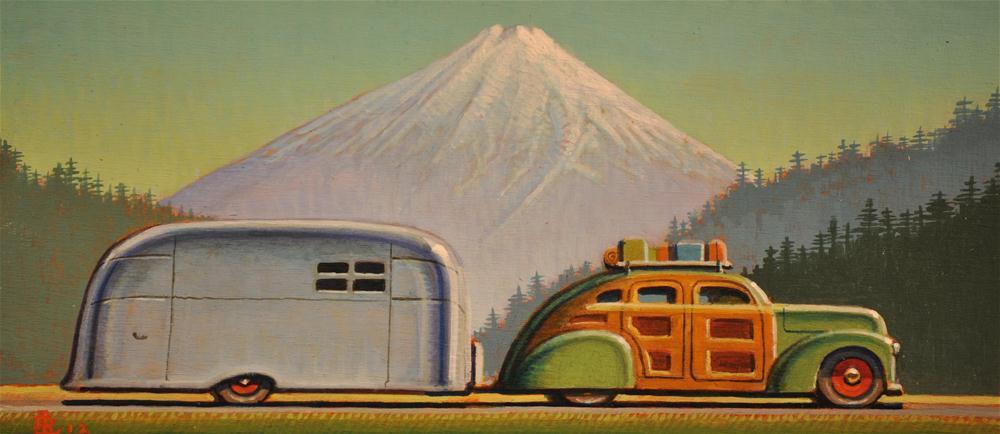 """North by Northwest"" original fine art by Robert LaDuke"
