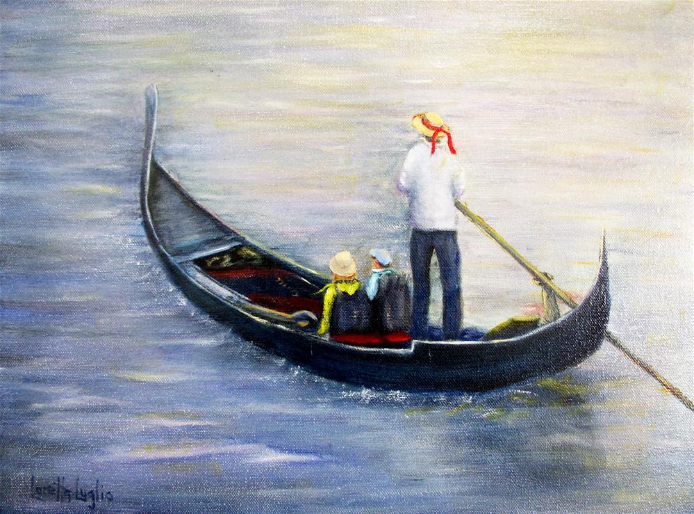 """""""Venetian Serenade"""" original fine art by Loretta Luglio"""
