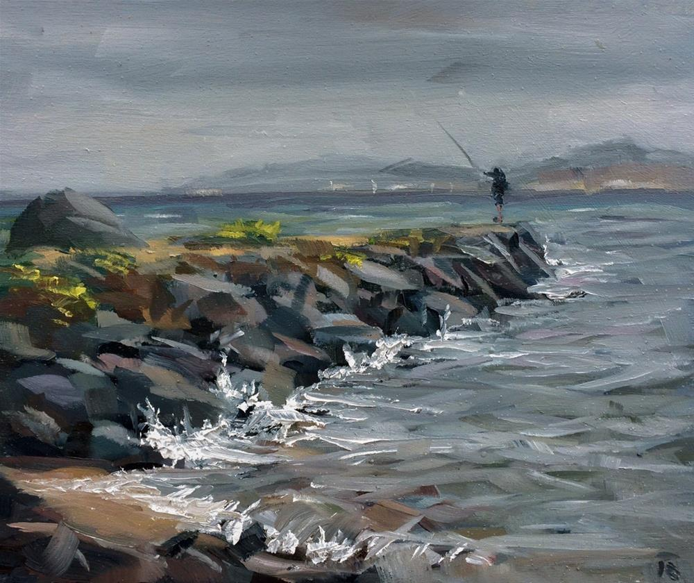 """Côte de grise"" original fine art by Thomas Ruckstuhl"