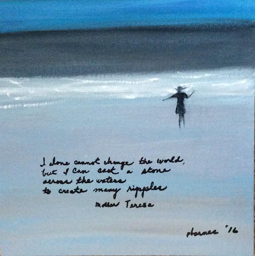 """Ripples"" original fine art by Patty Barnes"