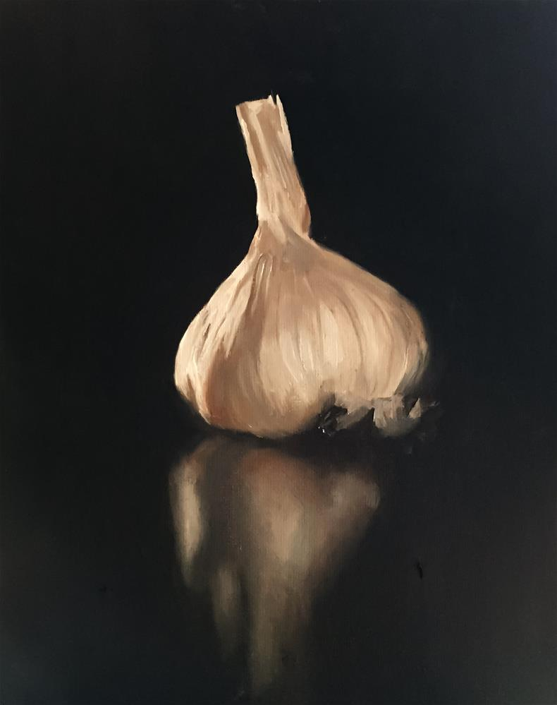 """Garlic"" original fine art by James Coates"