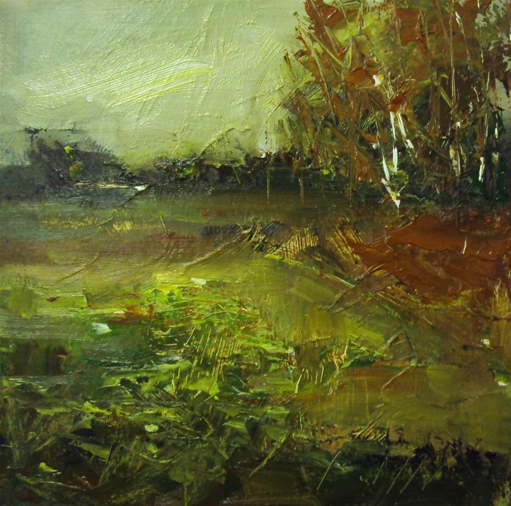 """October"" original fine art by Parastoo Ganjei"