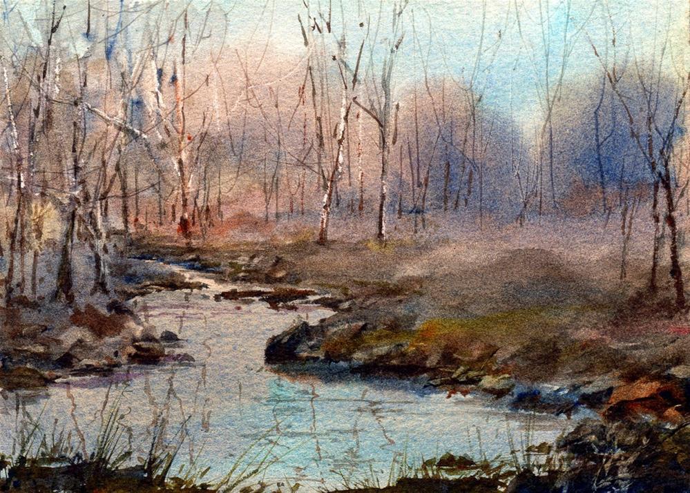 """Serenity"" original fine art by Linda Henry"