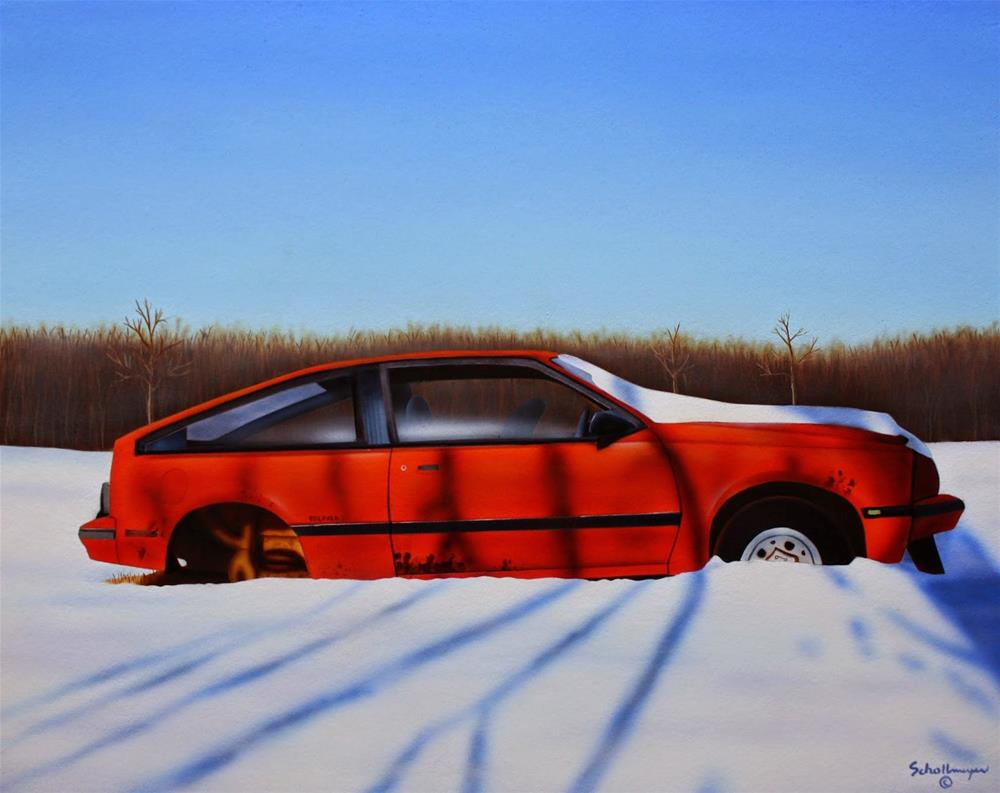 """""""Rust Never Sleeps"""" original fine art by Fred Schollmeyer"""