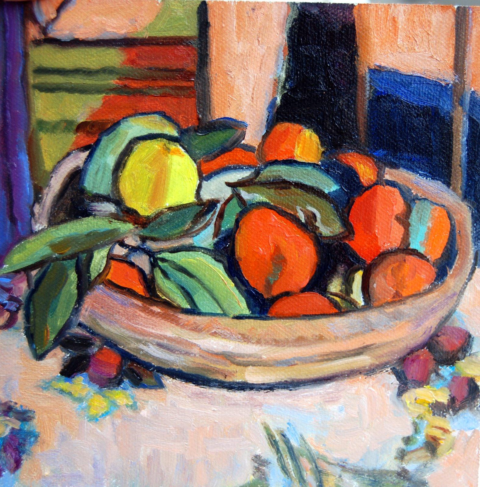 """""""Matisse Copy"""" original fine art by Julie Ford Oliver"""