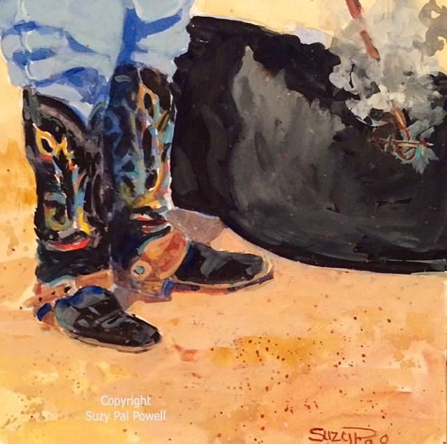 """Untitled"" original fine art by Suzy 'Pal' Powell"