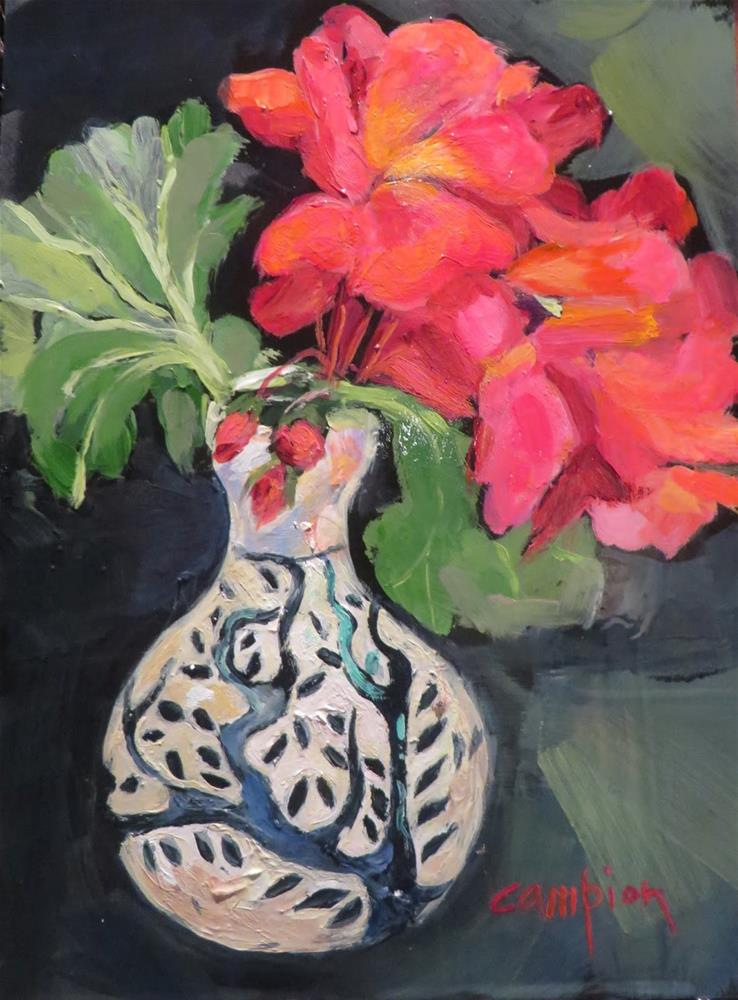 """680 Underappreciated"" original fine art by Diane Campion"