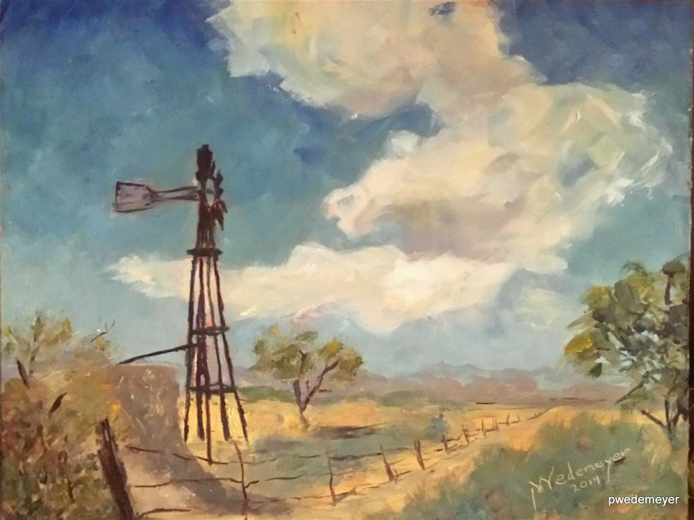 """A Summer Sky"" original fine art by Pamela Wedemeyer"