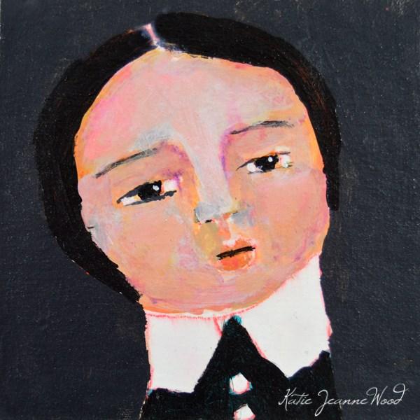 """Eve"" original fine art by Katie Jeanne Wood"