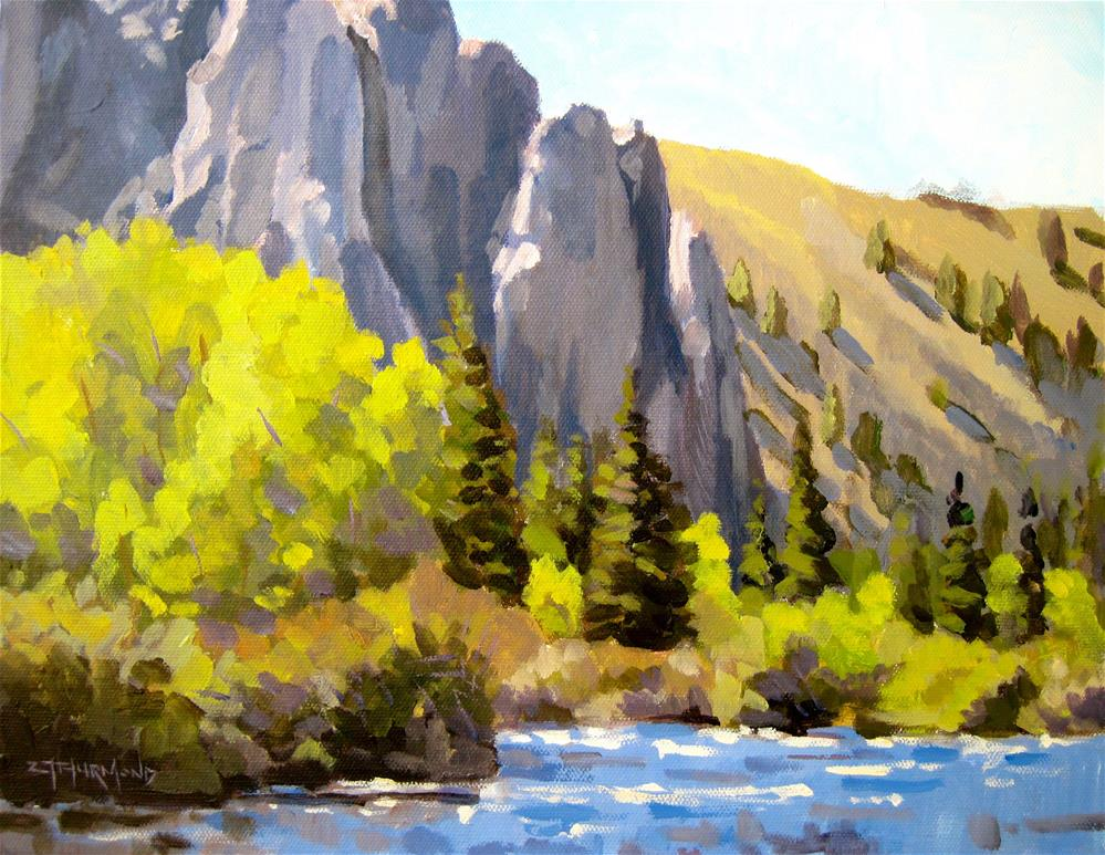 """Taylor Canyon"" original fine art by Zack Thurmond"